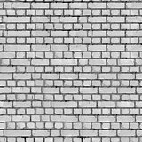 Grey Brick Wall Background.