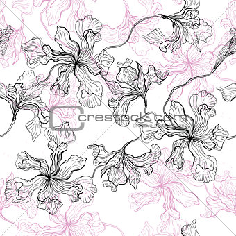 Foral pattern.
