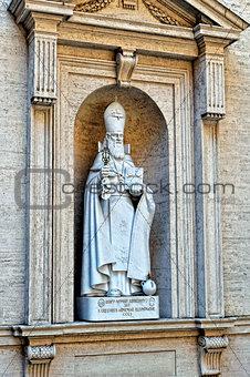 Sculptures in Vatican museum.