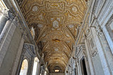 Roof of St. Peter's, Church. Vatican museum.
