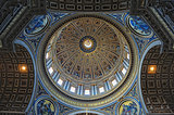 Roof of St. Peter&#39;s, Church. Vatican museum.