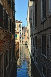Cityscape of Venice.