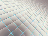Abstract background from a square smooth bricks