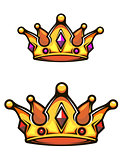Vintage heraldic crown