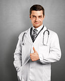 Doctor Man With Stethoscope