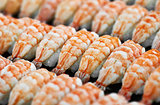 Japanese cuisine - shrimp sushi