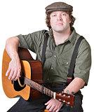 Calm Guitarist