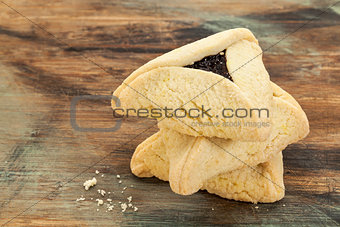 poppyseed hamantaschen cookies