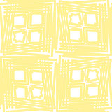 Seamless Yellow Square Pattern