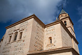 St Mary Church in Granada