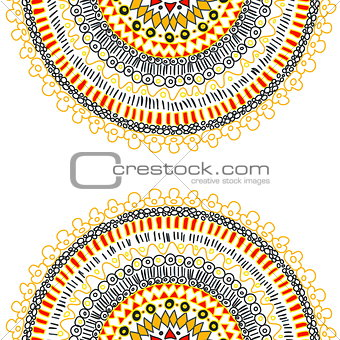 Background with ornamental lace