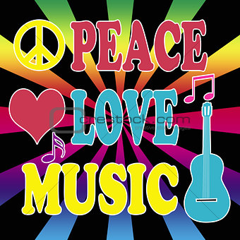 Peace, love, music