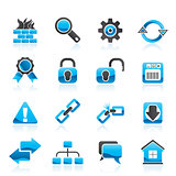 Internet and web site icons