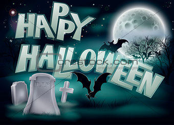 Happy Halloween Illustration