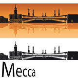 Mecca skyline