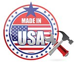 made in usa tools button seal