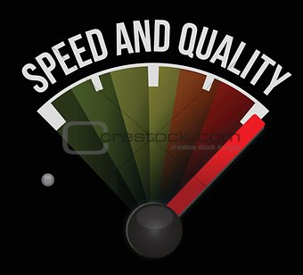 speed and quality speedometer