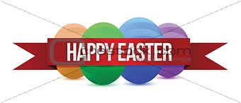 Happy Easters banner
