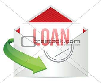 loan mail envelope