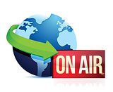 global news on the air
