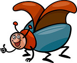 beetle insect cartoon illustration