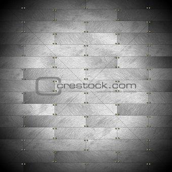 Grey Metal Wall