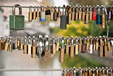 Love Locks on the Fence
