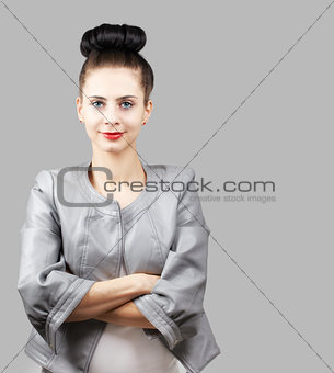 Stylish young woman