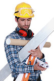 craftsman holding tools and wallpapers