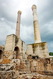 Antonine Baths chimneys