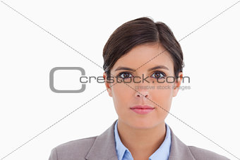 Close up of female entrepreneur