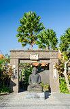 buddha statue in bali, indonesia