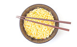 Noodles Cup and Chopsticks