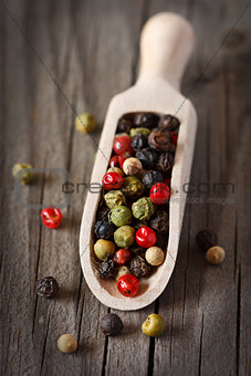 Peppercorn mix.