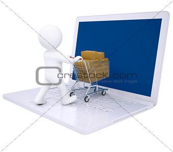 3d man sells online