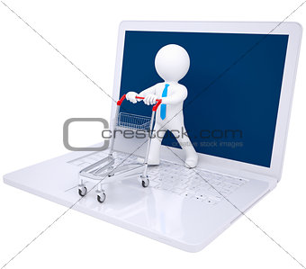 3d man made online purchases