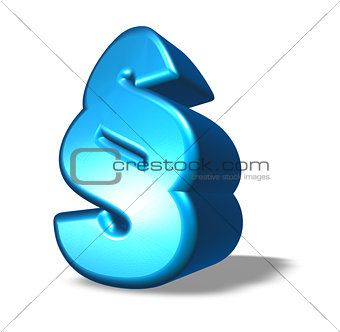 cartoon paragraph symbol
