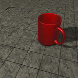 red mug