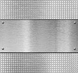metal plate template or pattern