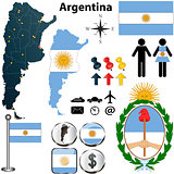 Argentina map
