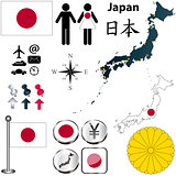 Japan map