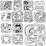 Mayan hieroglyphs