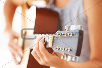 Strumming a melody