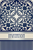 Vector Vintage Invitation