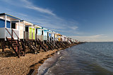 Thorpe Bay Sea Front, near Southend- on-Sea, Essex, England