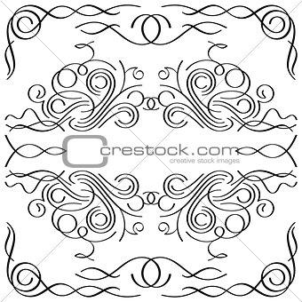 calligraphic frame