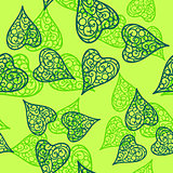 Vector flourish background green colored
