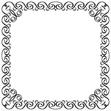 calligraphic frame