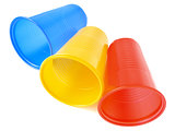 plastic cups