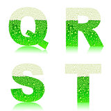 alphabet green beer QRST